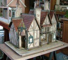Leaky Cauldron doll house. Harry