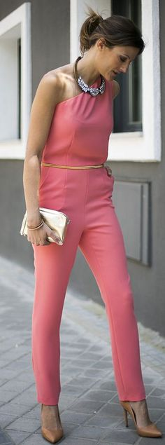 45 Best Casual Dresses for 40 Year Old Women fashion Coral jumpsuits for older woman - Woman Jumpsuits Jumpsuit Outfit, Best Casual Dresses, Stylish Outfits, Jumpsuit Elegante, 40 Years Old, Jumpsuits For Women, Fashion Jumpsuits, Old Women, Womens Fashion