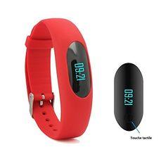 Willful Sport intelligent Bracelet Fitness montre podomètre Tracker Activité Tracker avec le temps, la date, record étape, compteur de…
