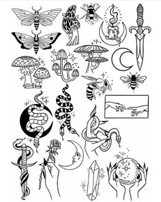 Thank you everyone that participated in my flash tattoo sale and helped me to pr. - - tattoos blackwork Thank you everyone that participated in my flash tattoo sale and helped me to pr. Kritzelei Tattoo, 13 Tattoos, Doodle Tattoo, Temp Tattoo, Poke Tattoo, Mandala Tattoo, Body Art Tattoos, Small Tattoos, Tatoos