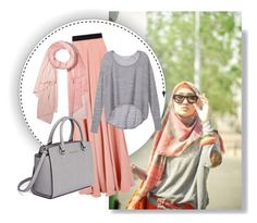"""""""hijablook-2"""" by butterflypanic ❤ liked on Polyvore featuring moda, Roksanda, Victoria's Secret, donni charm e MICHAEL Michael Kors"""