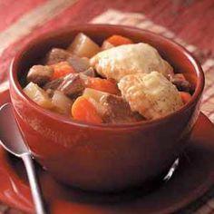 Venison Dumpling Stew -   Texas Recipes