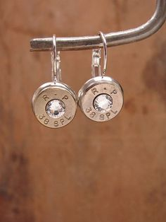 Bullet Jewelry 38 Special / 357 Magnum Silver by thekeyofa