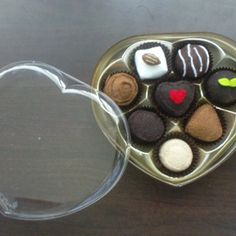 Felt tea party pattern set - handmade felt valentines chocolate, strawberries, sandwiches, mini cupcakes (patterns and tutorial via email)