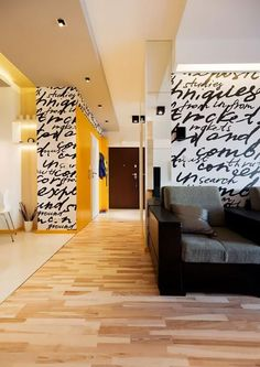 7 Modern Interior Trends Reinventing Classic Luxury and Versatile Functionality - Home Professional Decoration Muebles Color Chocolate, Wall Paint Treatments, Wall Design, House Design, Design Design, Design Apartment, Studio Apartment, Ideas Hogar, 2015 Trends
