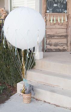 Hot Air Balloon Boy & Girl Baby Shower!