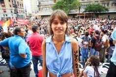 É lógico que o 1º ato contra o aumento da tarifa de ônibus em SP terminou em porrada | VICE | Brasil