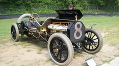 black beast car | Howard Kroplick's Alco-6 Racer at the 2011 Lime Rock Historic ...