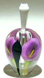 Art glass perfume bottles - glass art from Kela's Gallery