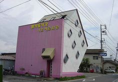 Strange Houses, Weird Houses, Unusual Houses U0026 Homes From Around The World    Design:related Forums. Upside Down House, Japan.