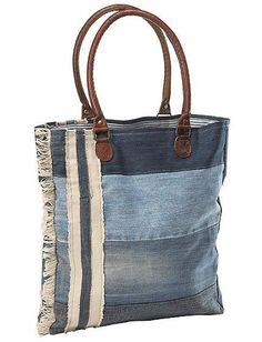 Джинсовая сумка (подборка) / Сумки, клатчи, чемоданы / ВТОРАЯ УЛИЦА