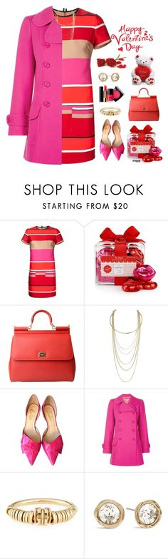 """Happy Valentine's Day"" by marion-fashionista-diva-miller ❤ liked on Polyvore featuring Lanvin, Chanel, The Hampton Popcorn Company, Dolce&Gabbana, Miss Selfridge, Butter, Michael Kors, Chloé, Chico's and DateNight"
