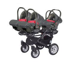 Vente Poussette triple trippy rouge - Cabriole bebe - Poussette triple trippy rouge  utilisable dès la naissance caractéristiques principales : chassis...