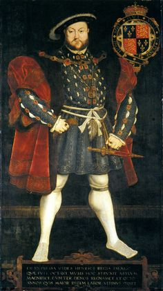 Henry VIII, believed painted by Hans Eworth (circa 1520–1574?) after Holbein the Younger