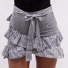 Garland Ruffle Skirt
