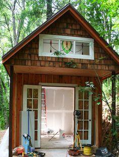 shed art studio