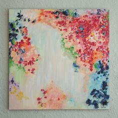 """Confetti"" painting."