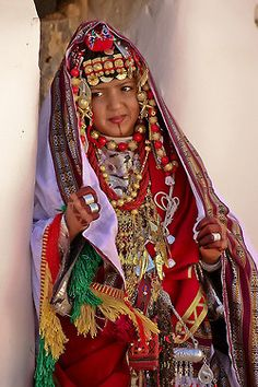 faith-in-humanity: Traditional dress from Ghadamis!! libyan dress by Mansour Ali on Flickr.