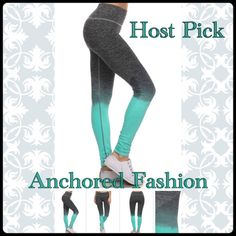 🎉HP🎉5/3 Teal and Grey Ombré These great quality leggings are moisture wicking and fit true to size. 88% Nylon 12% Spandex. 🌟🌟🌟🌟🌟All of my customers have rated these leggings five stars!🌟🌟🌟🌟🌟 Available in size S/M and size LG/XL. Please let me know what size and color you would like and I will create a custom bundle for you. I do discounted bundles, Pants Leggings