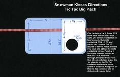 """Impressions: """"Snowman Kisses""""  Snowman Kisses  He's cute, Cuddly, & full of good wishes. He wants to give you These snowman kisses!"""