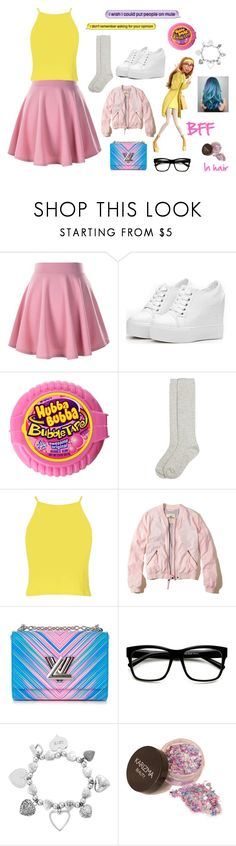 """Glitterbomb/ big hero six"" by littleangel66 ❤ liked on Polyvore featuring Disney, Monsoon, Boohoo, Hollister Co., Louis Vuitton and ChloBo"