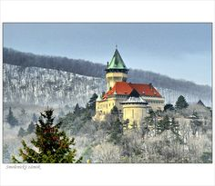 Castle Smolenice - Smolenický zámok, Slovak Republic Castle Pictures, Cool Pictures, Bratislava Slovakia, Central And Eastern Europe, Heart Of Europe, Church Building, Fortification, Kirchen, Small World
