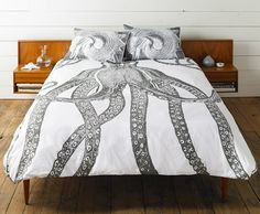 Thomaspaul - Octopus Duvet Cover DC027-CHR at 2Modern
