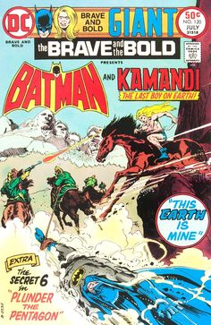 The Brave and The Bold 120 - Batman and Kamandi.