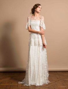 Delphine Manivet, price upon request | 52 Wedding Dresses That Aren't Strapless