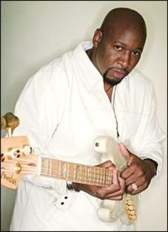 Wayman Tisdale was a great man,  bass player, athlete, Christian. RIP