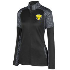http://apparel4rotc.com/wp-content/uploads/sites/17/2016/05/ROTC-Breaker-Jacket-Black-Graphite-Yellow.png Ladies Breaker Jacket - The ROTC Ladies Breaker Jacket Product Details:  	100 polyester knit interlock lower body  	Hybrid design with micropoly on shoulders, collar, and sleeve for rain and wind resistance combined with knit lower  	body for http://apparel4rotc.com/?product=ladies-breaker-jacket