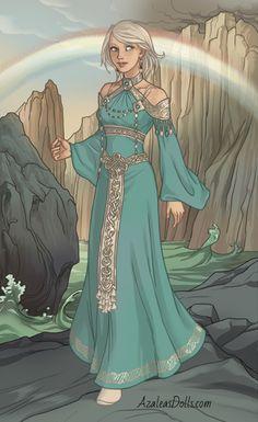 Goddess Costume, Goddess Dress, Fantasy Character Design, Character Design Inspiration, Loki's Wife, Norse Goddess, Aphrodite Goddess, Anime Dress, Dress Drawing