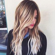Belle coloration blond