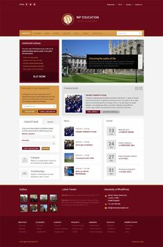 WP Education, WordPress Premium University Theme