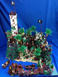 Lego Pirate Ship, Lego Ship, Lego Halloween, Lego Design, Lego Duplo, Lego Ninjago, Legos, Lego Dragon, Pirate Island