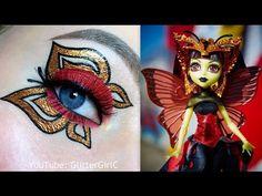 Monster High Luna Mothews MAKEUP TUTORIAL. Youtube channel: full.sc/SK3bIA