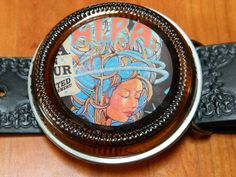 Magic Hat Brewing  HIPA Belt Buckle handcrafted by the by BrewPaw, $28.99