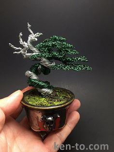 Large deadwood wire bonsai tree by Ken To by KenToArt on DeviantArt