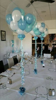 - centerpieces - custom-made balloon decor Coburg North - shivoo balloons a. - – centerpieces – custom-made balloon decor Coburg North – shivoo balloons and decor spec - Shower Party, Baby Shower Parties, Baby Shower Themes, Baby Boy Shower, Shower Ideas, Balloon Centerpieces, Baby Shower Centerpieces, Masquerade Centerpieces, Wedding Centerpieces