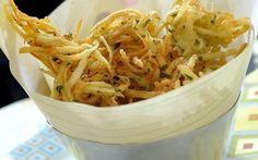 Bolinho de batata crespa. | 10 receitas que provam que você ainda não explorou todo o potencial da batata