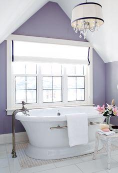 Purple paint colors on pinterest orange paint colors - Purple paint colors for bathrooms ...