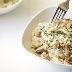 Mushroom and Chicken Risotto | Food & Wine