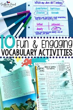 10 Fun & Engaging Vocabulary Activities - Southern Fried Teachin'