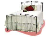 Beautiful Iron Bed, available in several different finishes.