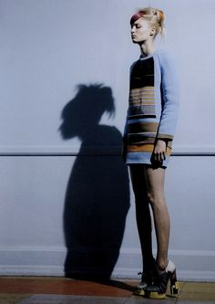 melissa tammerijn by pierre debusschere in another magazine fall 2010.