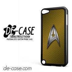 Star Trek Logo Metal DEAL-9953 Apple Phonecase Cover For Ipod Touch 5