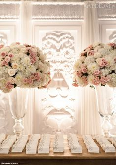 Floral Design and Decor: Frank Rea, Forget Me Not Flowers | Photography: Ikonica
