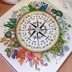 #johannabasford  #enchantedforest #coloring