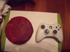 How to Make a Xbox Controller cake xbox cake part 3 – Mixing with Madison Fondant Cake Designs, Fondant Icing, Fondant Cakes, Cupcake Cakes, Cupcakes, Bolo Xbox, Xbox One Cake, Xbox Party, Video Game Party