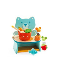 Djeco Felix's Cooker is a fun and sweet set distributed by Kaleidoscope.